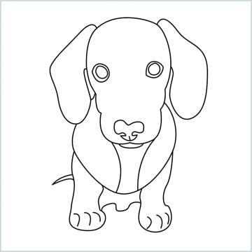 draw a puppy
