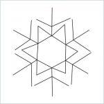 draw a snowflake