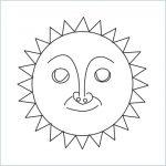 draw a sun