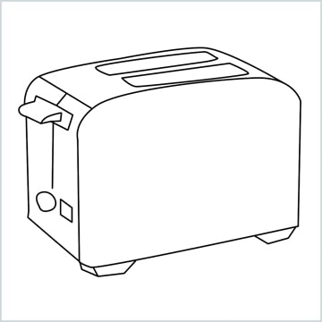 draw a toaster