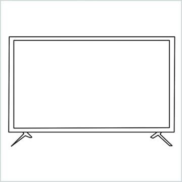 draw a tv