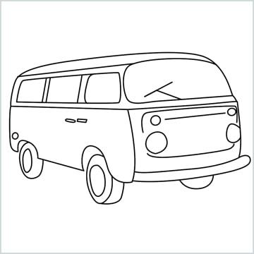 draw a van