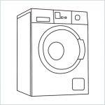 draw a washing machine