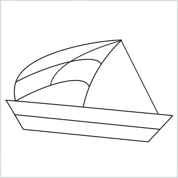 draw sailor ship