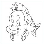 draw flounder