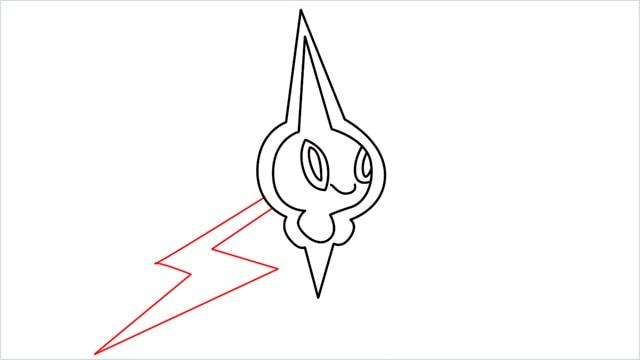 how to draw Rotom step (11)