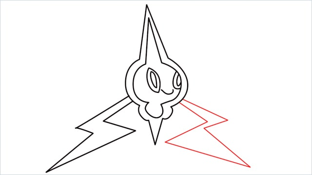 how to draw Rotom step (12)