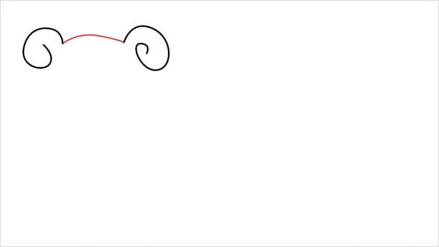 how to draw Slowpoke step (2)