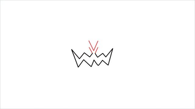 how to draw Spiritomb step (2)