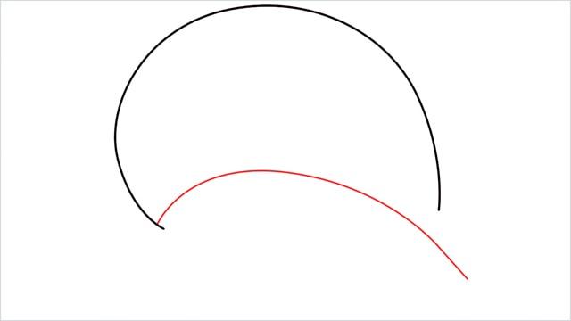 how to draw Swinub step (2)