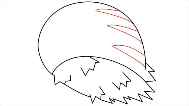 how to draw Swinub step (6)