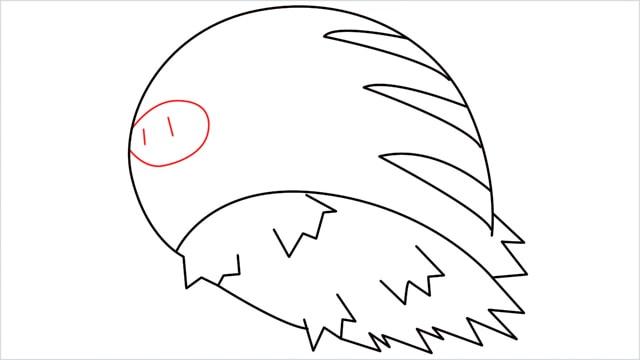 how to draw Swinub step (7)