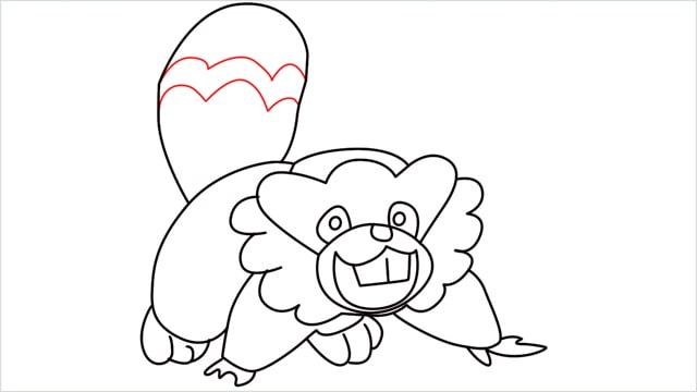 how to draw a Bibarel step (12)