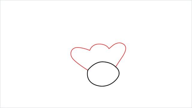 how to draw a Bibarel step (2)