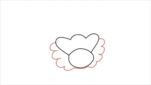 how to draw a Bibarel step (3)