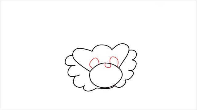 how to draw a Bibarel step (4)