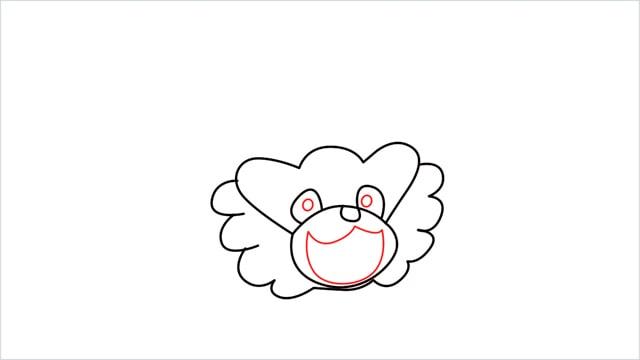 how to draw a Bibarel step (5)