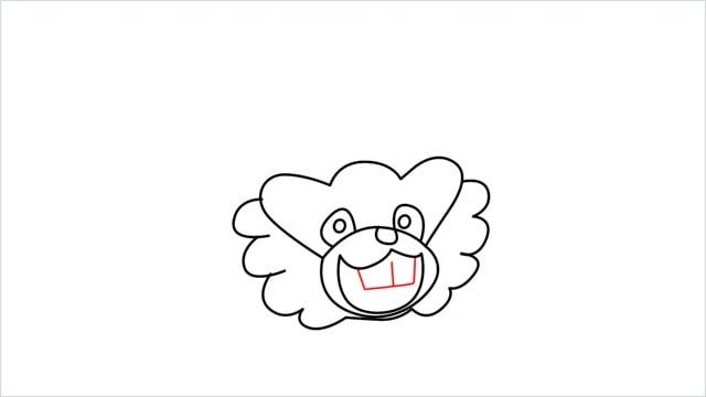 how to draw a Bibarel step (6)