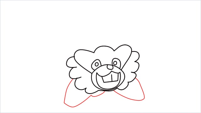 how to draw a Bibarel step (7)