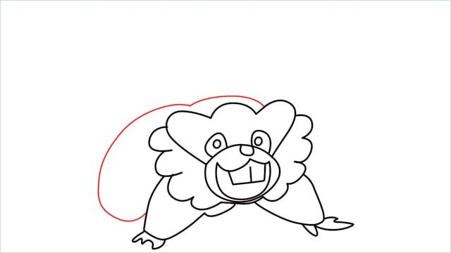 how to draw a Bibarel step (9)