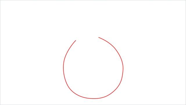 how to draw a Budew step (1)