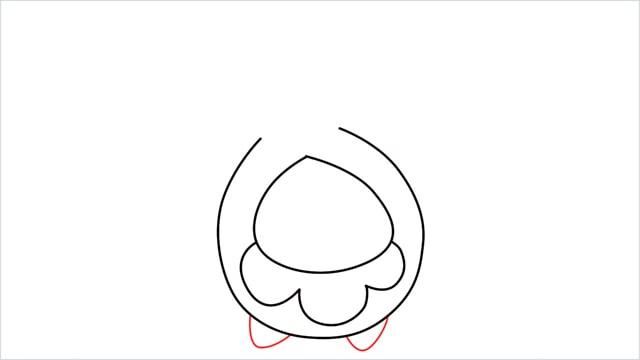 how to draw a Budew step (4)