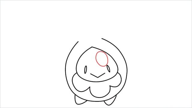 how to draw a Budew step (7)