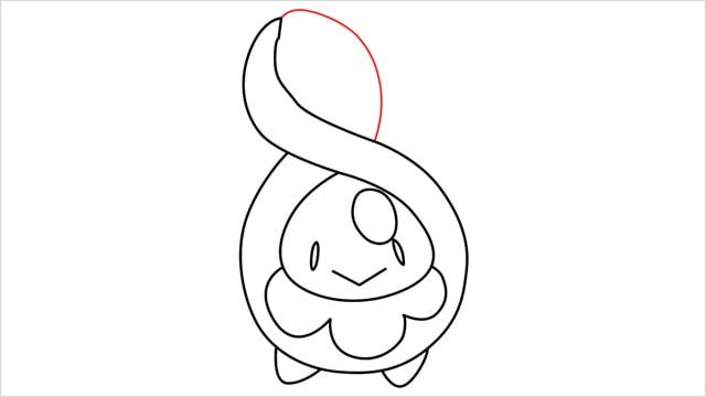 how to draw a Budew step (9)