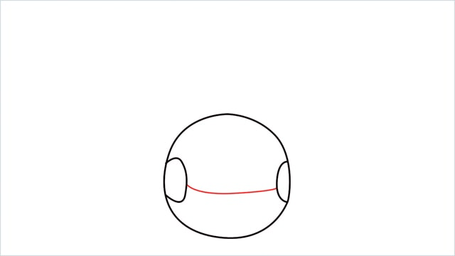 how to draw a Chingling step (3)