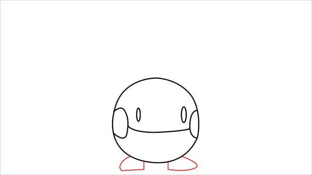 how to draw a Chingling step (5)