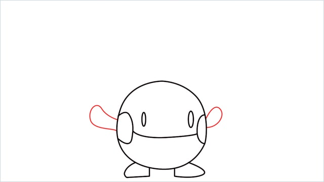 how to draw a Chingling step (6)