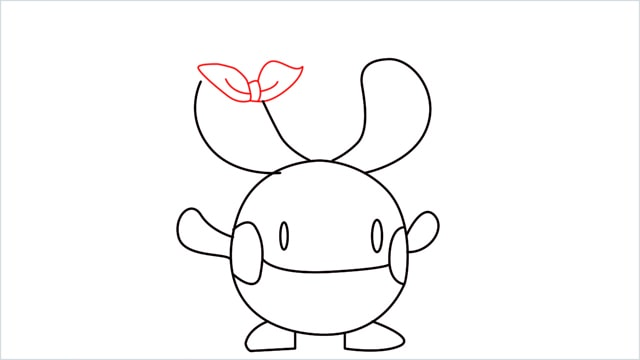 how to draw a Chingling step (8)