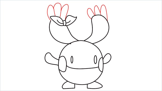 how to draw a Chingling step (9)