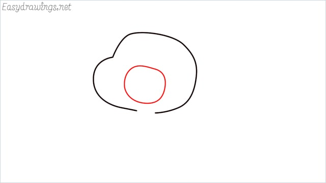 how to draw a Gumball Watterson step (3)