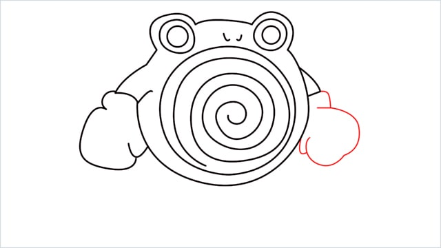 how to draw a Poliwhirl step (10)