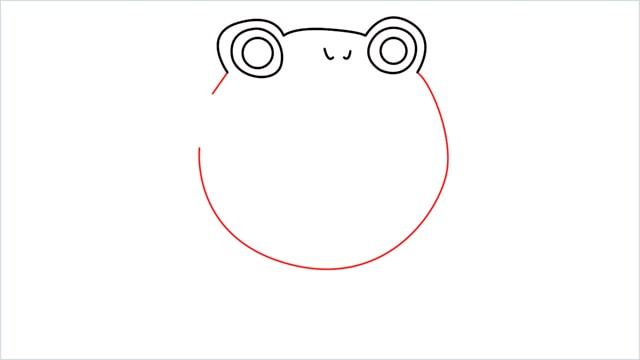 how to draw a Poliwhirl step (5)