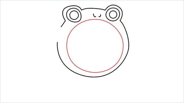 how to draw a Poliwhirl step (6)