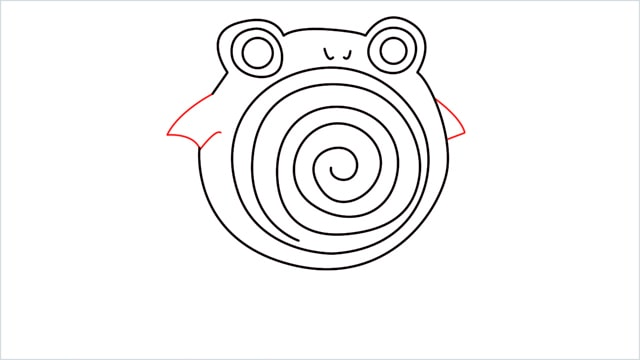 how to draw a Poliwhirl step (8)