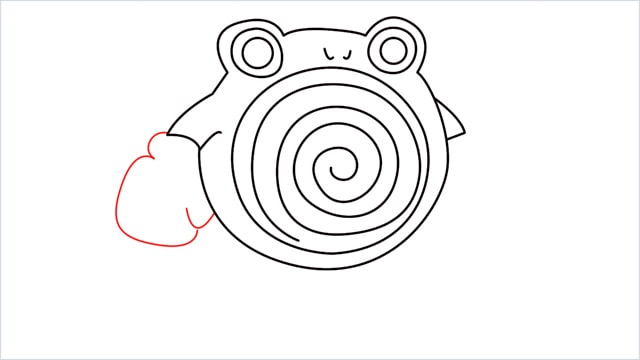 how to draw a Poliwhirl step (9)