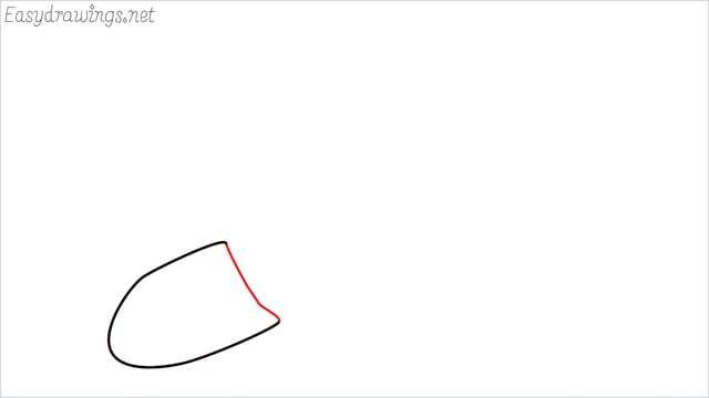 how to draw a Shovel step (2)