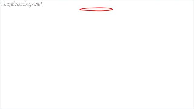 how to draw a Wine glass step (1)