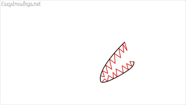 how to draw a angler fish step (2)