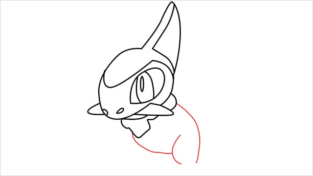 how to draw a axew step (10)