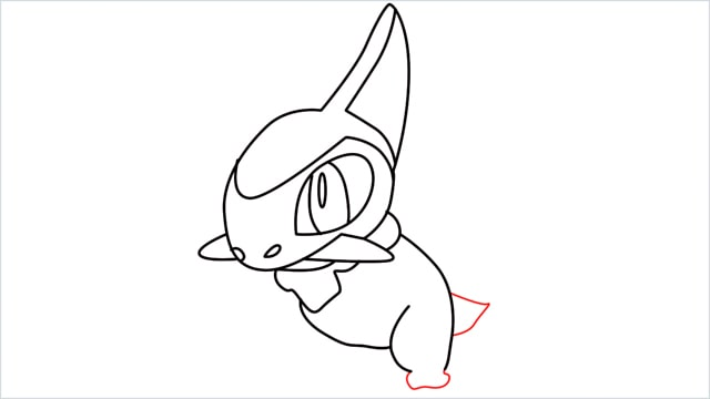 how to draw a axew step (11)