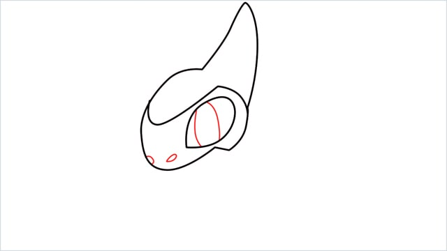 how to draw a axew step (5)