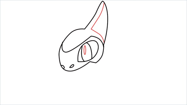 how to draw a axew step (6)