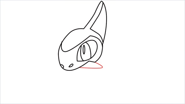 how to draw a axew step (7)