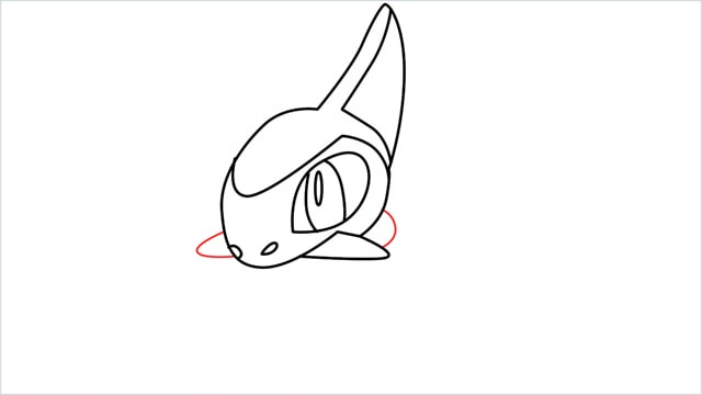 how to draw a axew step (8)