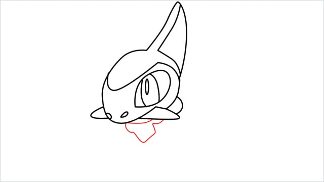 how to draw a axew step (9)