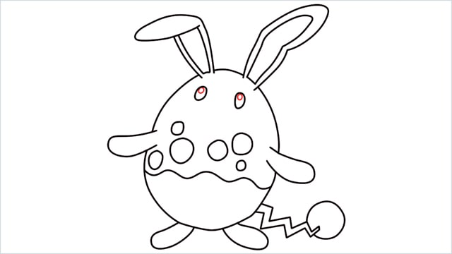 how to draw a azumarill step (10)